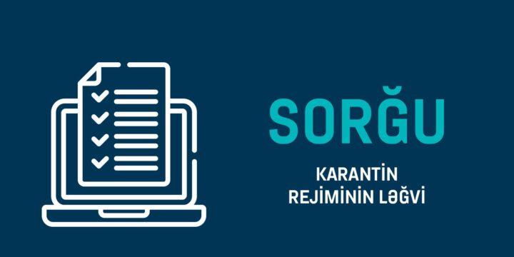 Karantin Rejiminin Ləğvi