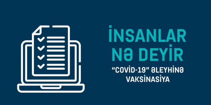 """""""Covid-19"""" Əleyhinə Vaksinasiya"""