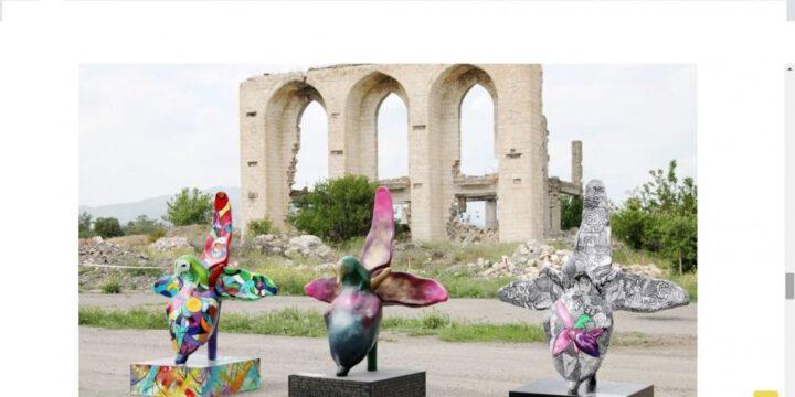 """""""Xarıbülbül"""" beynəlxalq musiqi festivalı Fransa mətbuatında (FOTO)"""